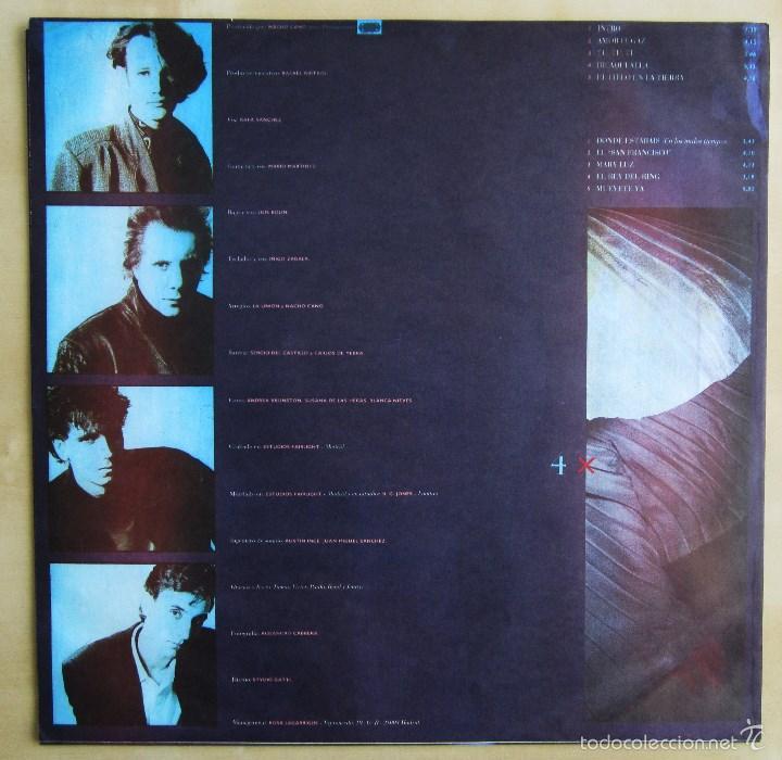 Discos de vinilo: LA UNION - 4X4 - VINILO ORIGINAL 1987 WEA PRIMERA EDICION - Foto 4 - 56501824