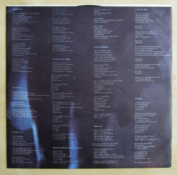 Discos de vinilo: LA UNION - 4X4 - VINILO ORIGINAL 1987 WEA PRIMERA EDICION - Foto 5 - 56501824