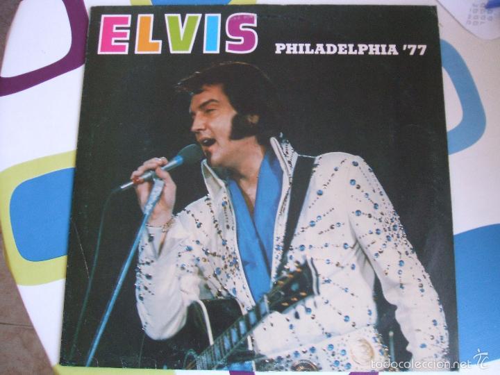 ELVIS PRESLEY / PHILADELPHIA 77 - LP (Música - Discos - LP Vinilo - Pop - Rock - Extranjero de los 70)