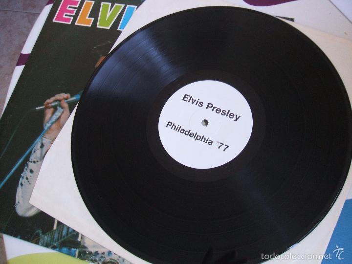 Discos de vinilo: ELVIS PRESLEY / PHILADELPHIA 77 - LP - Foto 3 - 56507856