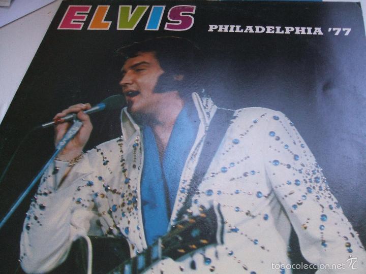 Discos de vinilo: ELVIS PRESLEY / PHILADELPHIA 77 - LP - Foto 7 - 56507856