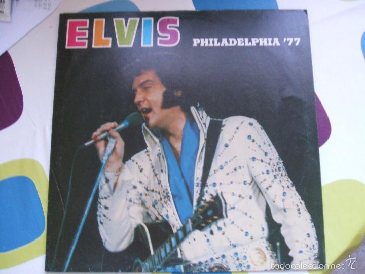 Discos de vinilo: ELVIS PRESLEY / PHILADELPHIA 77 - LP - Foto 8 - 56507856