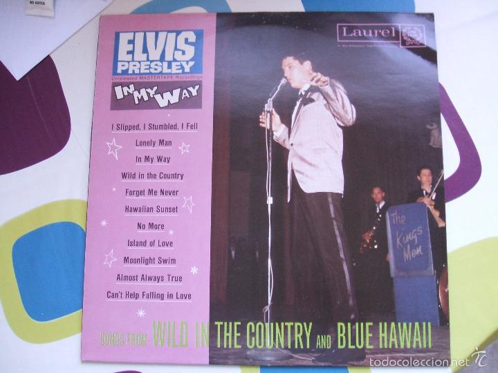 ELVIS PRESLEY / IN MY WAY / LP - LAUREL - *RAREZA (Música - Discos - LP Vinilo - Bandas Sonoras y Actores)