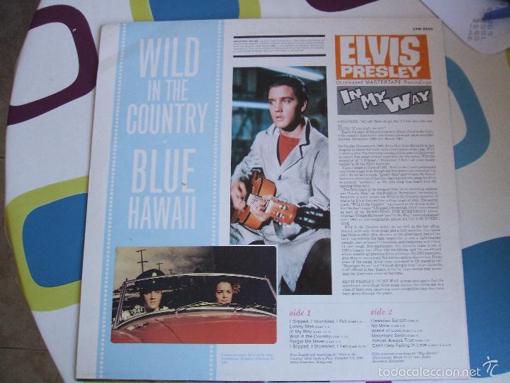 Discos de vinilo: ELVIS PRESLEY / IN MY WAY / LP - LAUREL - *RAREZA - Foto 4 - 56508132