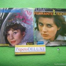 Discos de vinilo: FERRANTE & TEICHER (2 EP ) MY FAIR LADY/LISA EP SPAIN 1962 PDELUXE . Lote 56511888