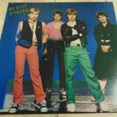 Discos de vinilo: NO DICE - 2 FACED - LP POP ROCK - USA 1979. Lote 56502857