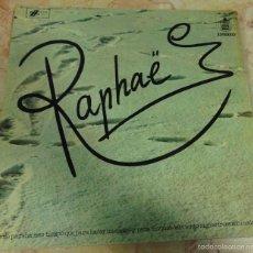 Discos de vinilo: RAPHAEL LP 1973 - PORTADA GATEFOLD. Lote 56502922