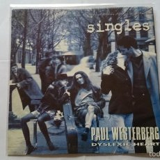 Discos de vinilo: PAUL WESTERBERG (THE REPLACEMENTS) - DYSLEXIC HEART (OST/BSO 'SINGLES') (PROMO 1992). Lote 56516699