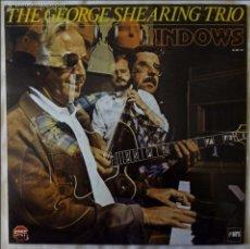 Discos de vinilo: GEORGE SHEARING TRIO, THE - WINDOWS (MPS) LP ESPAÑA - LOUIS STEWART. Lote 183418240