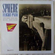Discos de vinilo: SPHERE, FLIGHT PATH (ELEKTRA) LP ALEMANIA - KENNY BARRON CHARLIE ROUSE. Lote 56518389