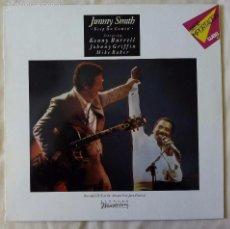 Discos de vinilo: JIMMY SMITH, KEEP ON COMIN' (ELEKTRA) LP ALEMANIA - KENNY BURRELL JOHNNY GRIFFIN. Lote 183419162
