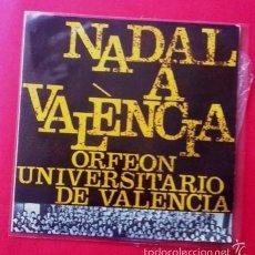 Discos de vinilo: NADAL A VALÈNCIA - ORFEÓN UNIVERSITARIO DE VALENCIA - EDIPHONE - EDIGSA. Lote 57441810
