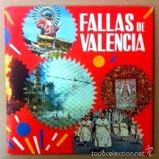 Discos de vinilo: FALLAS DE VALENCIA - LIBRETO DE 16 PÁGINAS - 1970. Lote 75651465