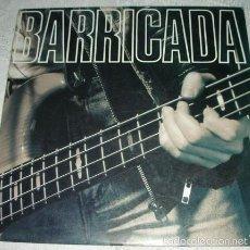 Discos de vinilo: BARRICADA - DOBLE LP EN DIRECTO. Lote 56524792