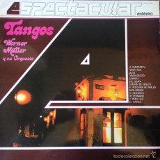 Disques de vinyle: WERNER MÜLLER Y SU ORQUESTA - TANGOS . LP . 1982 TELEFUNKEN . Lote 56530056
