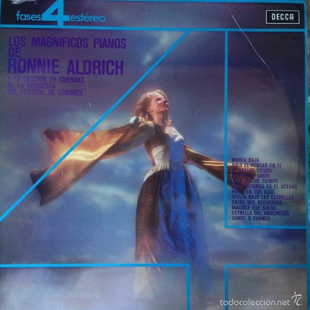 RONNIE ALDRICH - LOS MAGNIFICOS PIANOS DE RONNIE ALDRICH . LP . 1977 DECCA (Música - Discos - LP Vinilo - Orquestas)