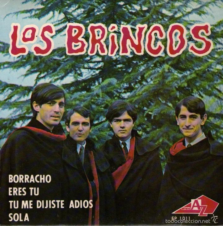 LOS BRINCOS - EP SINGLE VINILO 7'' - EDITADO EN FRANCIA - BORRACHO + 3 (Música - Discos de Vinilo - EPs - Grupos Españoles de los 70 y 80)