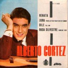 Discos de vinilo: ALBERTO CORTEZ - EP SINGLE VINILO 7'' - EDITADO EN PORTUGAL - RENATA + 3 - ALVORADA. Lote 56535223
