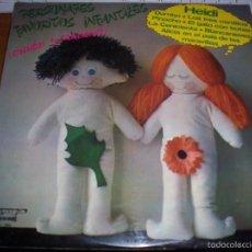 Discos de vinilo: LP PERSONAJES FAVORITOS INFANTILES. VARIOS ARTISTAS. EDICION OLYMPO DE 1976. COMO NUEVO.. Lote 56537609