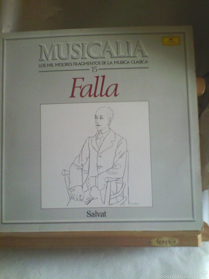 DISCO DE VINILO MUSICALIA- MANUEL DE FALLA (Música - Discos - LP Vinilo - Clásica, Ópera, Zarzuela y Marchas)
