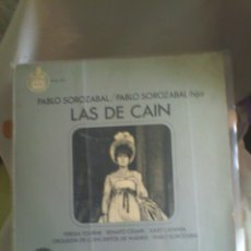 Discos de vinilo: DISCO DE VINILO PABLO SOROZABAL - LAS DE CAÍN. Lote 56540131