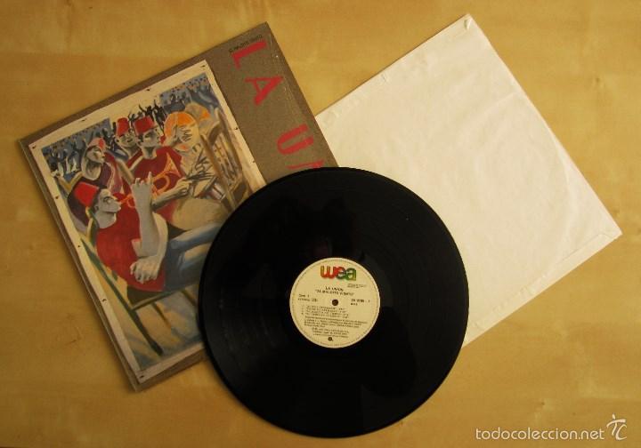 LA UNION - EL MALDITO VIENTO - LP VINILO ORIGINAL WEA PRIMERA EDICION 1985 (Música - Discos - LP Vinilo - Grupos Españoles de los 70 y 80)