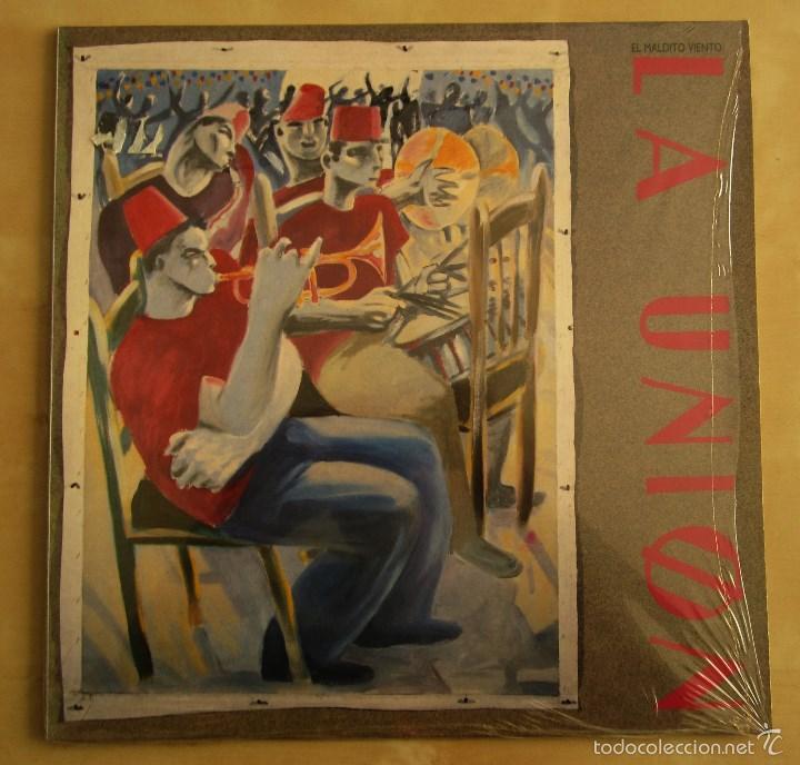 Discos de vinilo: LA UNION - EL MALDITO VIENTO - LP VINILO ORIGINAL WEA PRIMERA EDICION 1985 - Foto 2 - 56540180