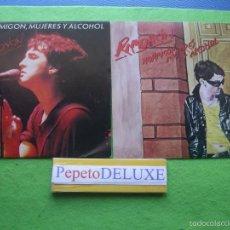 Discos de vinilo: RAMONCIN (2 SG) HORMIGON,MUJERES Y ALCOHOL SINGLES SPAIN 1981 PDELUXE. Lote 56545941