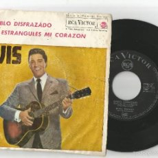 Discos de vinilo: ELVIS PRESLEY: DIABLO DISFRAZADO (YOU´RE THE DEVIL IN DISGUISE) + PLEASE DON´T DRAG MY STRING SROUND. Lote 56546040