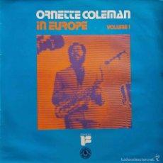 Discos de vinilo: ORNETTE COLEMAN, IN EUROPE VOL.1 - LP EDICIÓN ESPAÑA, AÑO 1975. Lote 56547537
