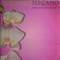Disques de vinyle: MECANO LP SELLO CBS AÑO 1983 EDITADO EN ESPAÑA . Lote 56551035