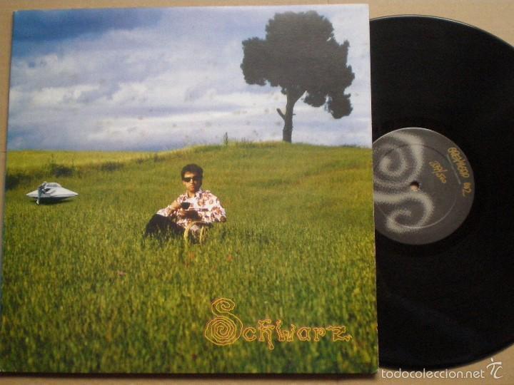 SCHWARZ -THESE SONGS MEAN- LP GREYHEAD 1998 // ED. LIMITADA NUMERADA 377/500 // NEO PSYCH INDIE (Música - Discos - LP Vinilo - Grupos Españoles de los 90 a la actualidad)