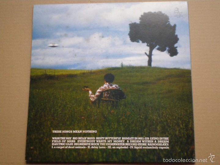 Discos de vinilo: SCHWARZ -These Songs Mean- LP GREYHEAD 1998 // ED. LIMITADA NUMERADA 377/500 // NEO PSYCH INDIE - Foto 4 - 56552497