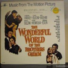 Discos de vinilo: LP VINYL - EL MARAVILLOSO MUNDO DE LOS HERMANOS GRIMM (VARIOS) (NM / NM). Lote 56553650