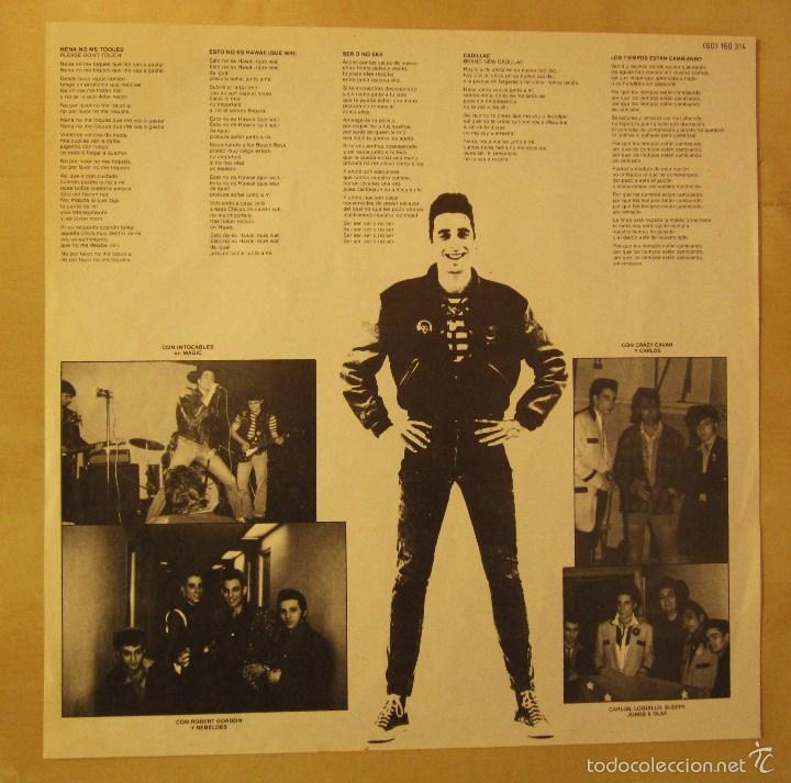 Discos de vinilo: LOQUILLO - LOS TIEMPOS ESTAN CAMBIANDO - VINILO ORIGINAL EDICION HISPAVOX 1985 - Foto 6 - 56556261