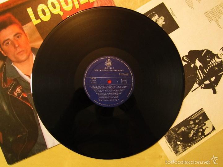 Discos de vinilo: LOQUILLO - LOS TIEMPOS ESTAN CAMBIANDO - VINILO ORIGINAL EDICION HISPAVOX 1985 - Foto 7 - 56556261