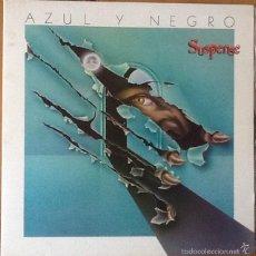 Discos de vinilo: AZUL Y NEGRO : SUSPENSE [ESP 1984] LP. Lote 56556873