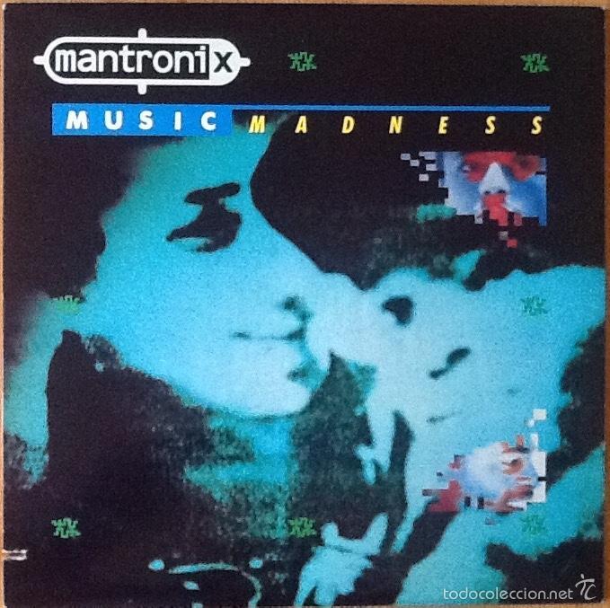 MANTRONIX : MUSIC MADNESS [USA 1986] LP/1ST EDITION (Música - Discos - LP Vinilo - Rap / Hip Hop)