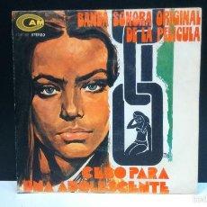 Discos de vinilo: SINGLE SANTIESTEBAN - CEBO PARA UNA ADOLESCENTE - VINILO MUY BUEN ESTADO. Lote 56562988