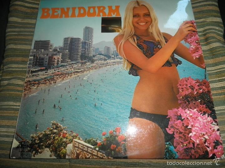 BENIDORM 74 - VACACIONES EN BENIDORM LP - VARIOS - ORIGINAL ESPAÑA - ARLEQUIN 1974 - STEREO / MONO segunda mano