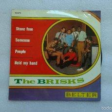 Discos de vinilo: THE BRISKS - STONE FREE EP 1968. Lote 56566994
