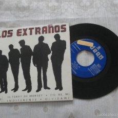 Discos de vinilo: LOS EXTRAÑOS 7´EP EL FERRY DE MERSEY (1965) + 3 TEMAS - VINILO PROMOCIONAL-PORTADA FOTOCOPIADA.. Lote 56570516