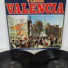 Discos de vinilo: VIXCA VALENCIA - 2 LP - YUPY 1973 SPAIN - GATEFOLD CON LETRAS - HIMNE REGIONAL. Lote 56571112