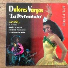 Discos de vinilo: EP LA TERREMOTO - BELTER 1962. Lote 56571951