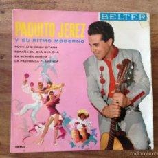 Discos de vinilo: EP PAQUITO JEREZ - BELTER 1961. Lote 56571982
