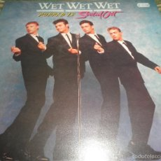 Discos de vinilo: WET WET WET - POPPED IN SOULED LP - ORIGINAL INGLES - PHONOGRAM RECORDS 1987 CON FUNDA INT. ORIGINAL. Lote 56572023
