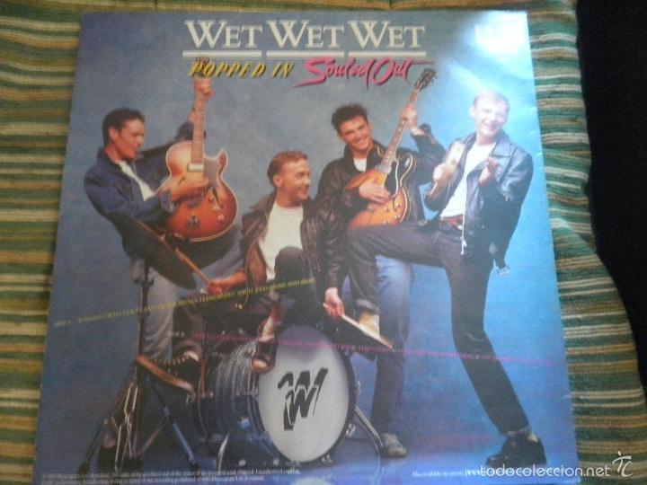 Discos de vinilo: WET WET WET - POPPED IN SOULED LP - ORIGINAL INGLES - PHONOGRAM RECORDS 1987 CON FUNDA INT. ORIGINAL - Foto 2 - 56572023