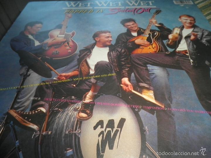 Discos de vinilo: WET WET WET - POPPED IN SOULED LP - ORIGINAL INGLES - PHONOGRAM RECORDS 1987 CON FUNDA INT. ORIGINAL - Foto 6 - 56572023