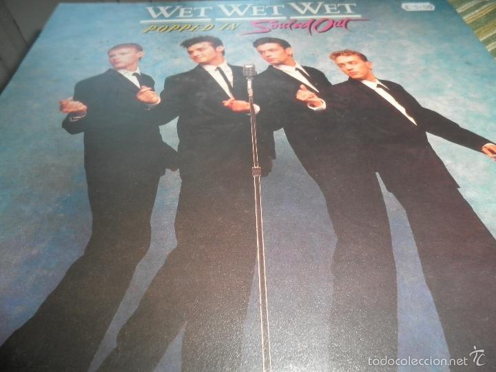 Discos de vinilo: WET WET WET - POPPED IN SOULED LP - ORIGINAL INGLES - PHONOGRAM RECORDS 1987 CON FUNDA INT. ORIGINAL - Foto 7 - 56572023