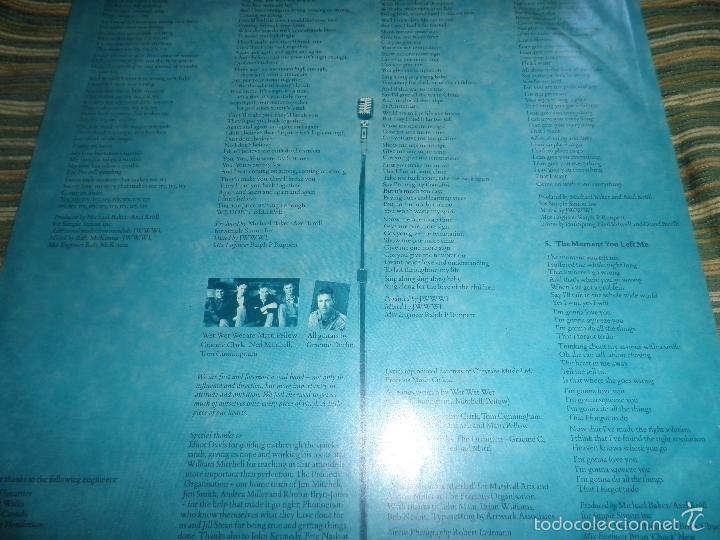 Discos de vinilo: WET WET WET - POPPED IN SOULED LP - ORIGINAL INGLES - PHONOGRAM RECORDS 1987 CON FUNDA INT. ORIGINAL - Foto 10 - 56572023